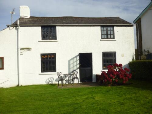 The Cottage and garden, Deanwood Holidays Forest of Dean