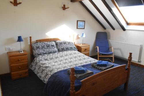 Bluebell Cottage Forest of Dean double bedroom