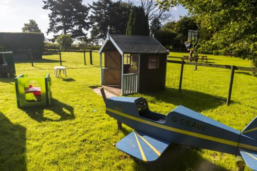 Little children's play area, Deanwood self catering holiday cottages, Forest of Dean