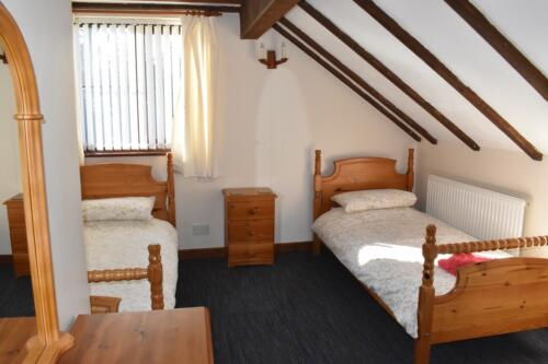 Foxes Cottage Forest of Dean twin bedroom