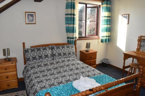 Foxes Holiday Cottage Forest of Dean double bedroom