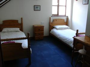 Ivy Cottage twin bedroom, Deanwood Holiday cottages