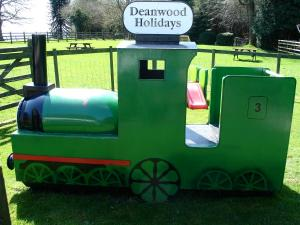 Play train, Deanwood Holiday Cottages, Forest of Dean