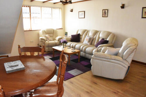 Tigs Holiday Cottage lounge Forest of Dean