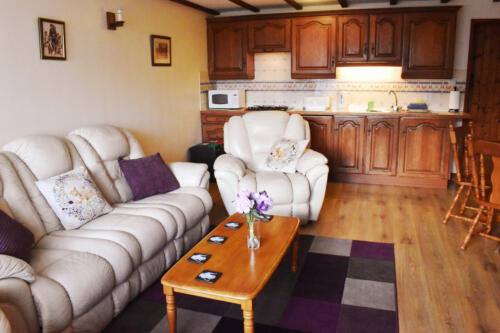 Tigs self catering cottage lounge Deanwood Holiday Cottages