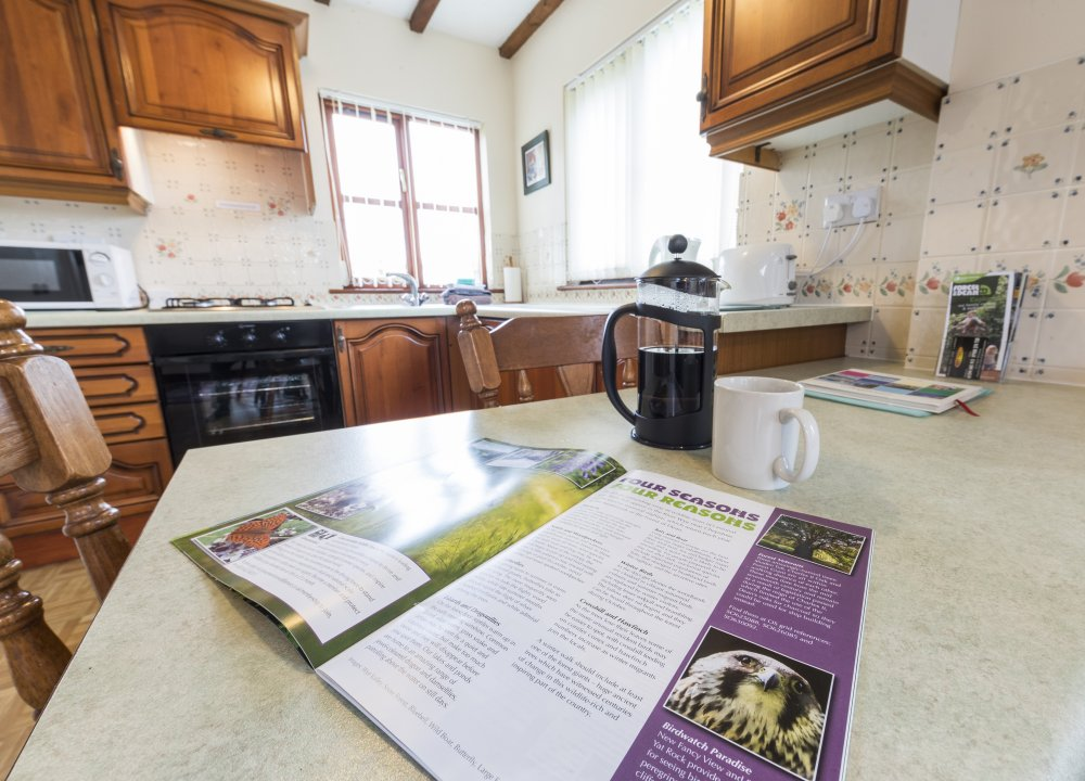Bridle Cottage lounge / kitchen / diner, Deanwood self catering Holidays, Forest of Dean