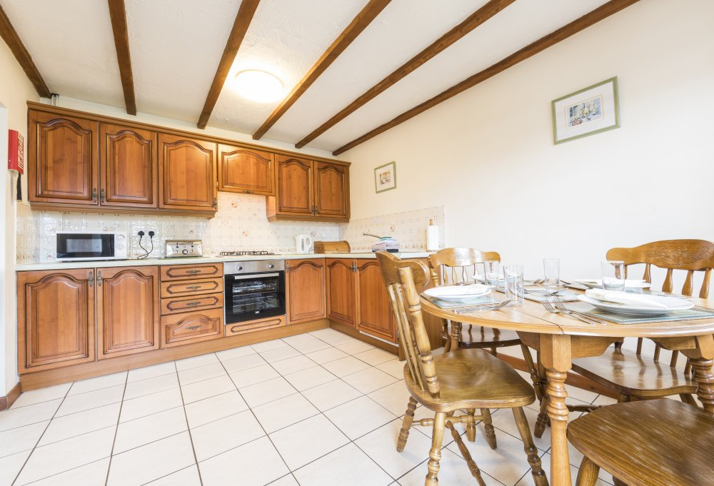 Forge Cottage kitchen, Deanwood self catering holidays, Forest of Dean