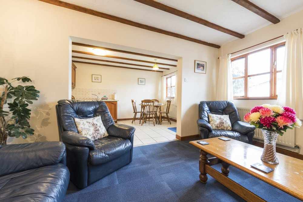 Forge Cottage lounge, Deanwood self catering holidays, Forest of Dean