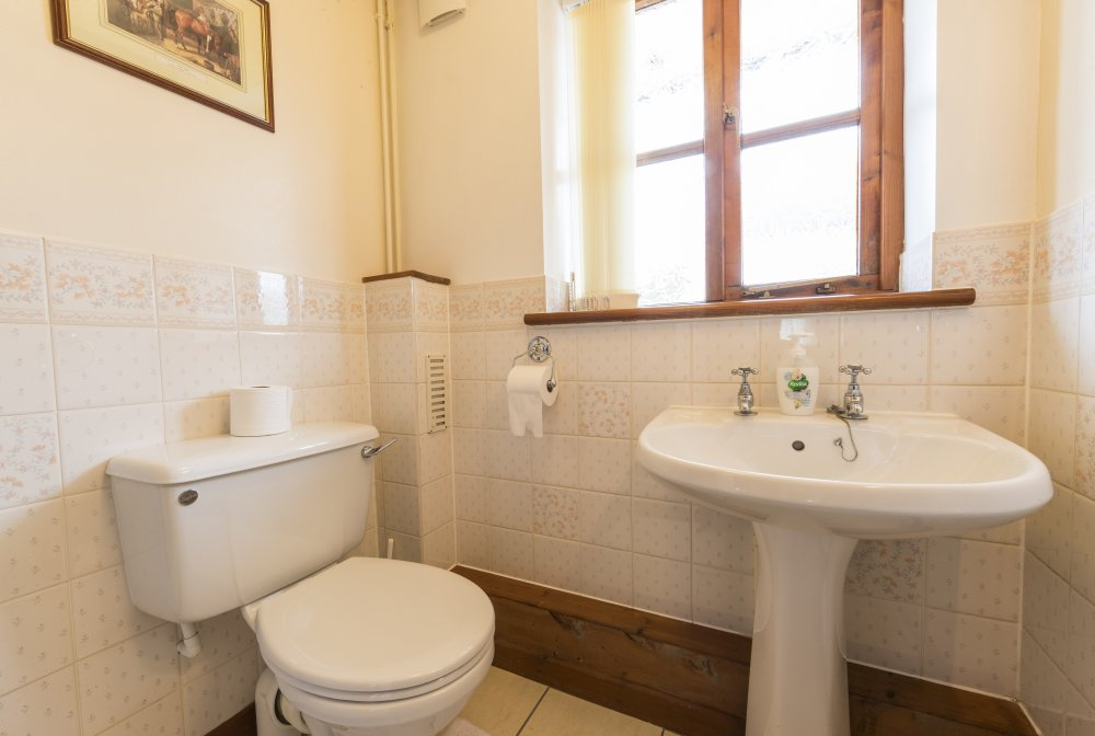 Sunrise Cottage shower room, Deanwood Holidays, Forest of Dean